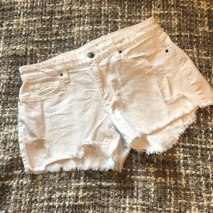 Joe's Jeans White Jean shorts